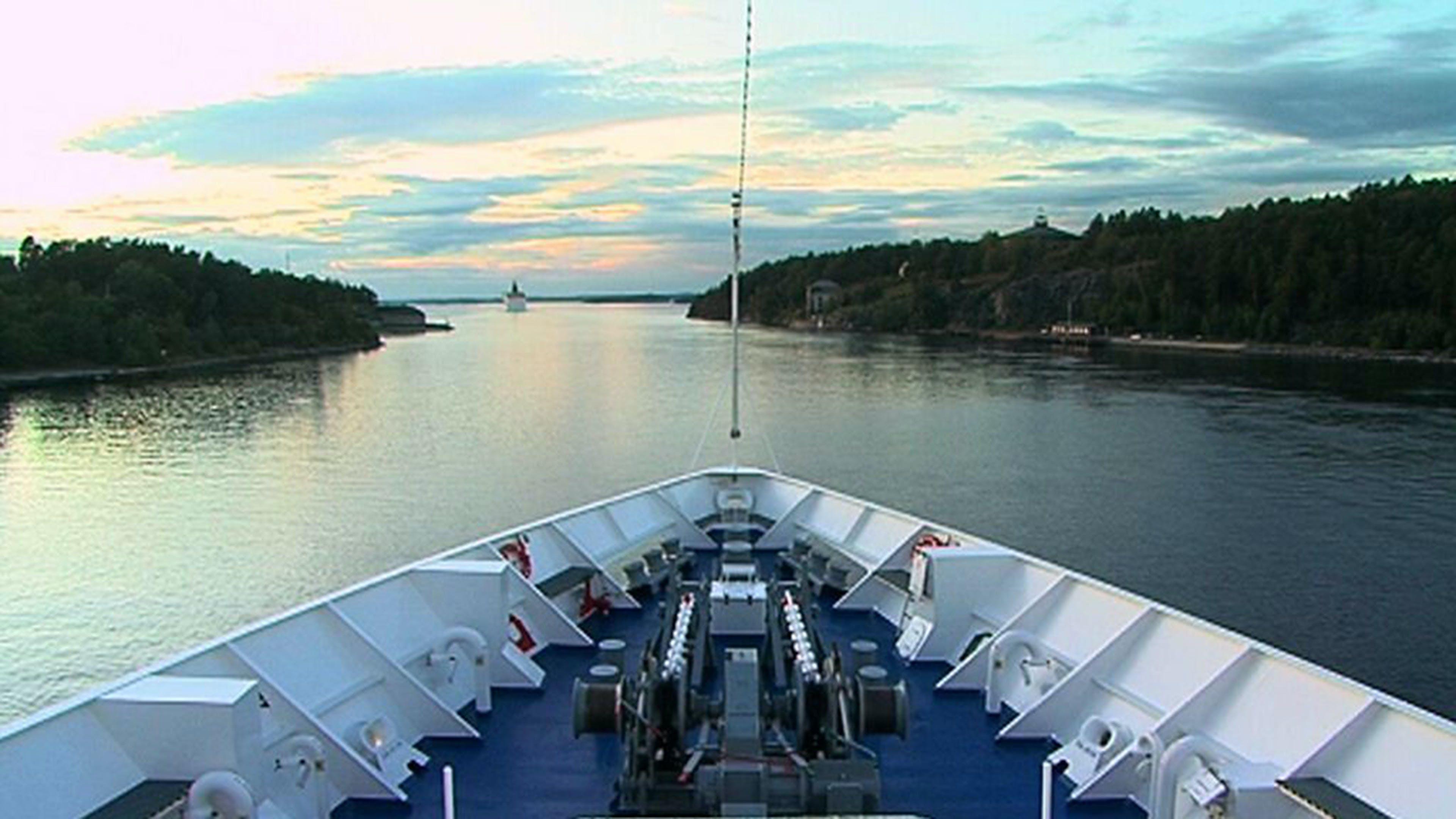 Von Stockholm nach Bornholm und Kiel
