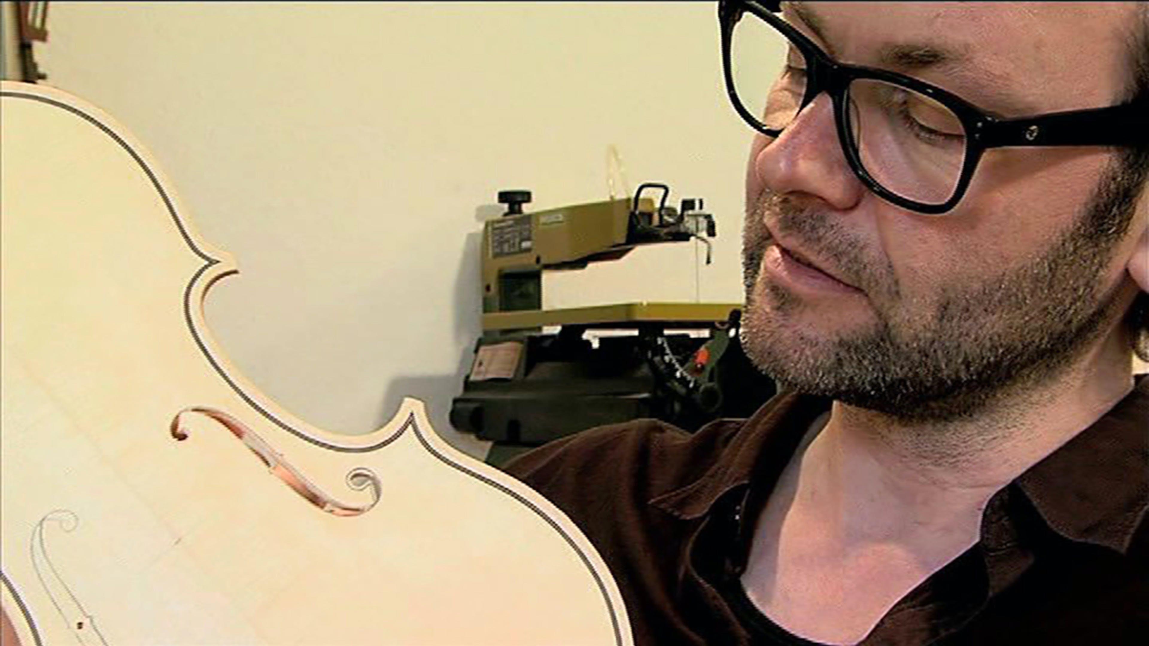 Vier Saiten für ein Hallelujah - Der Bau einer Geige